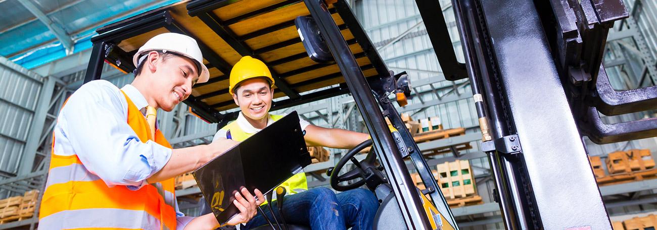 Was ist die Eignungsuntersuchung für Gabelstaplerfahrer?