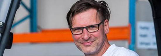 Kachel-Interview mit Staplerfahrer Wolfgang von Gahlen